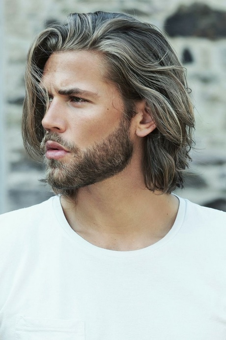 hair styles for long hair men mannen haarmode 2018 8006 | mannen haarmode 2018 16 15